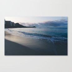 beach-morning 03 Canvas Print