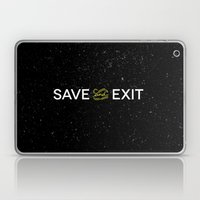 Save And Exit Laptop & iPad Skin