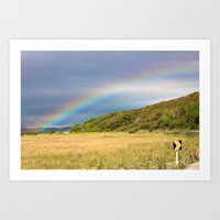Irish Rainbow Art Print