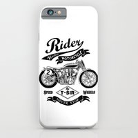 iPhone & iPod Case featuring Rider by T-SIR