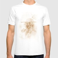 Otoño Mens Fitted Tee White SMALL