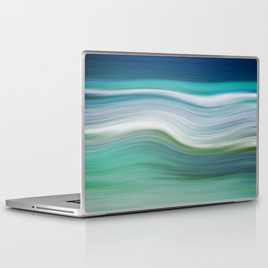 OCEAN ABSTRACT Laptop & iPad Skin