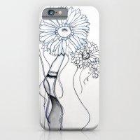 Flower Hair iPhone 6 Slim Case