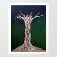 Discover Art Print
