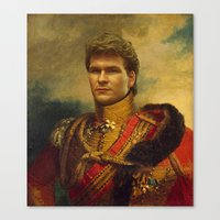 Patrick Swayze - Replace… Canvas Print