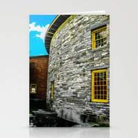 Round barn exterior Stationery Cards