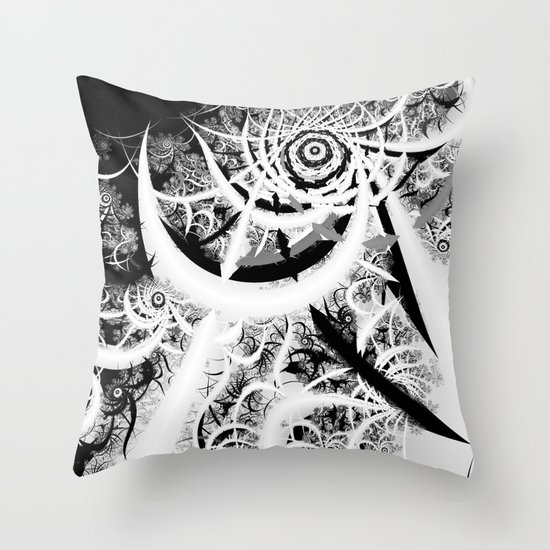 Through the Void Throw Pillow