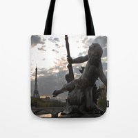 Angels in Paris Tote Bag