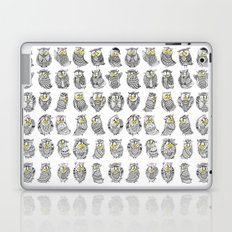 Sleepy Owls Laptop & iPad Skin