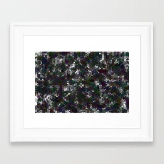 Panelscape - #5 society6 custom generation Framed Art Print