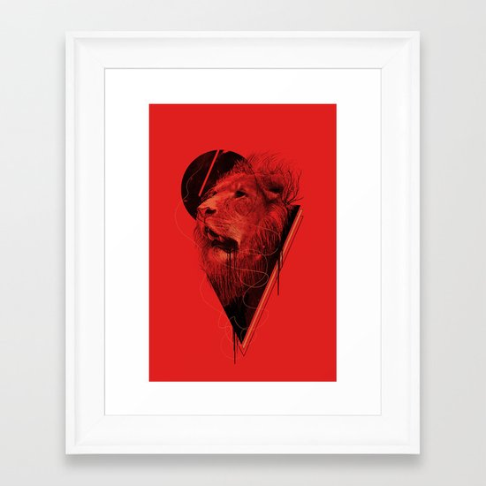 Hunger Strike Framed Art Print