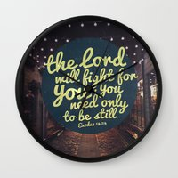 FIGHT FOR YOU Wall Clock
