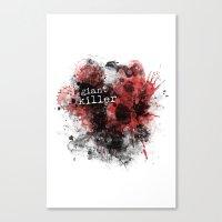 Giant Killer Canvas Print