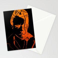 Lovelocked Black Stationery Cards