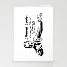 """Liberal Logic: Putting the """"Moron"""" in Oxymoron Since 1828 Stationery Cards"""