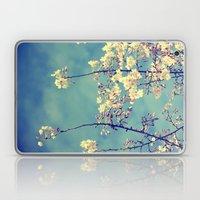 Blossoms On Blue Sky Laptop & iPad Skin