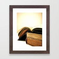One Love Framed Art Print