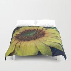 Sunflower for a dream Duvet Cover
