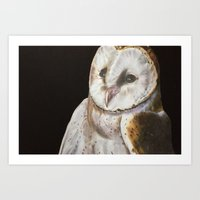 Nighty Owl Art Print