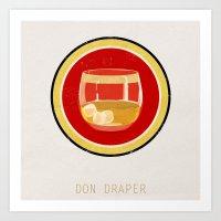 Don Draper Art Print