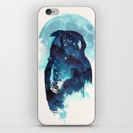 Midnight Owl iPhone & iPod Skin