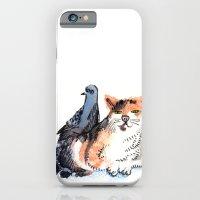 Pigeon and Cat iPhone 6 Slim Case
