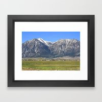 Minden, Nevada Framed Art Print