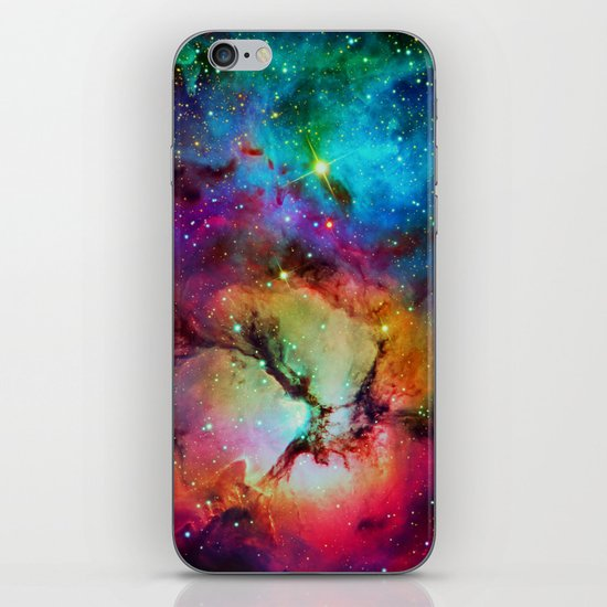 Floral Nebula iPhone & iPod Skin