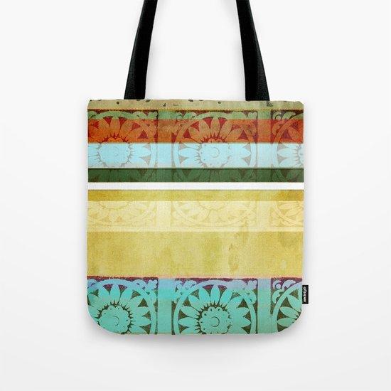 Textile - Green Tote Bag