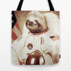 Sloth Astronaut Tote Bag