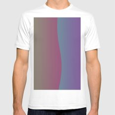 Another Wave SMALL White Mens Fitted Tee