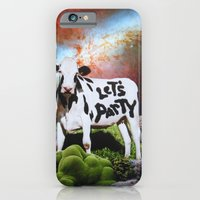 iPhone Cases featuring Let's Party by John Turck