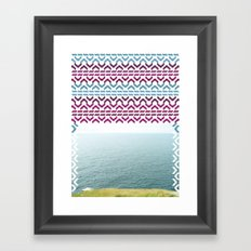AZTEC 'Beyond The Sea' 1-2 Framed Art Print