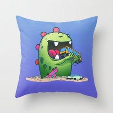 Dinosaur Throw Pillow