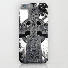 Celtic cemetery cross iPhone 6s Slim Case
