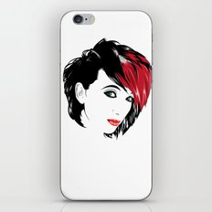 minimal girl 2 iPhone & iPod Skin