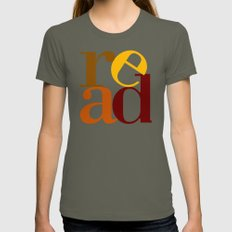 read love Womens Fitted Tee Lieutenant SMALL