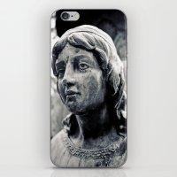Lady Of Stone iPhone & iPod Skin