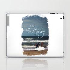 Surfing Laptop & iPad Skin