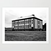 Art Print featuring The Barlow Annex by Vorona Photography