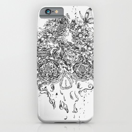 Skull Flower iPhone & iPod Case