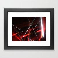 STROBE Framed Art Print