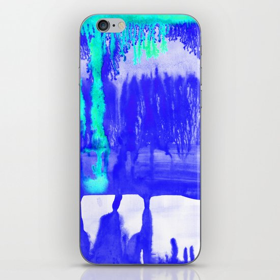 Dip Dye Ultramarine iPhone & iPod Skin