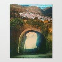 Tunnel Del Sol Canvas Print