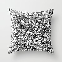 boredom Throw Pillow