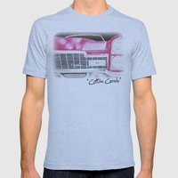 Pink Cadillac - Cotton C… Mens Fitted Tee Athletic Blue SMALL