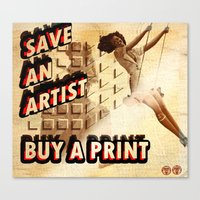 Shameless Self Promotion #1 Canvas Print