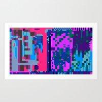 tcanvasmosh45 Art Print