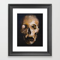 Skull 9 Framed Art Print