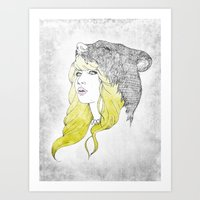 Goldilocks Art Print